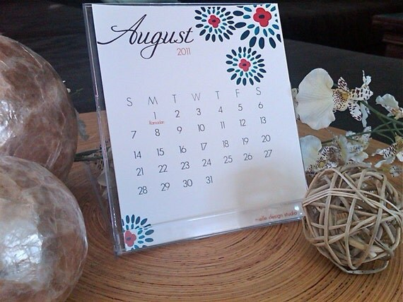 ON SALE NOW - April 2011-April 2012 Desktop Calendar