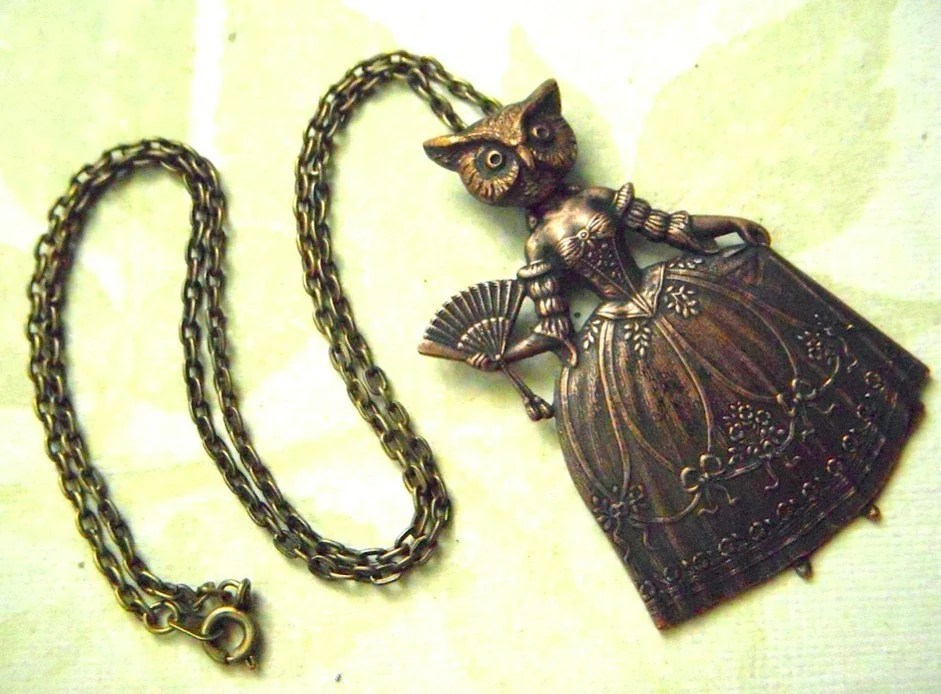 Owl Girl Necklace
