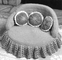 CROCHET PET BED | Crochet For Beginners