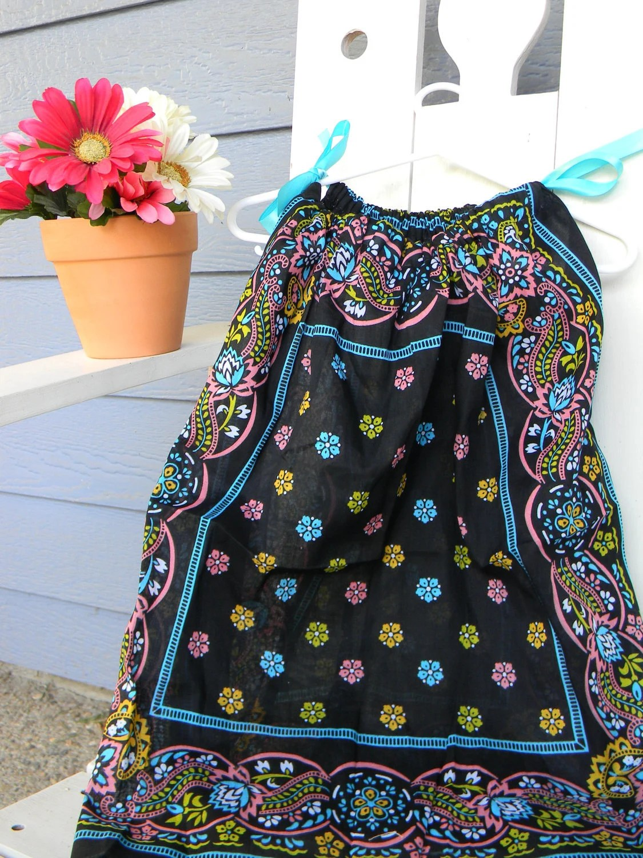 Handkerchief Dress Flourishes SALE