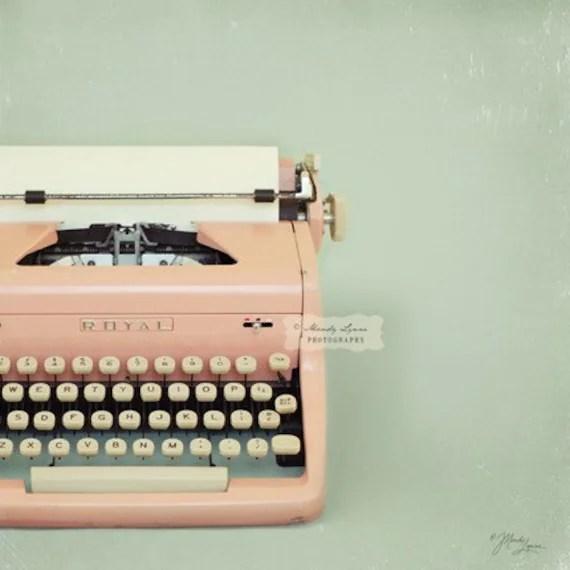pink-typewriter