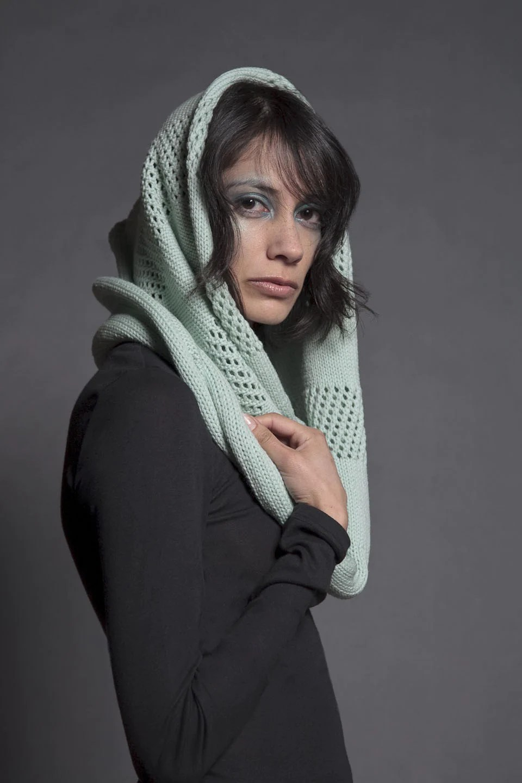 snood circle scarf