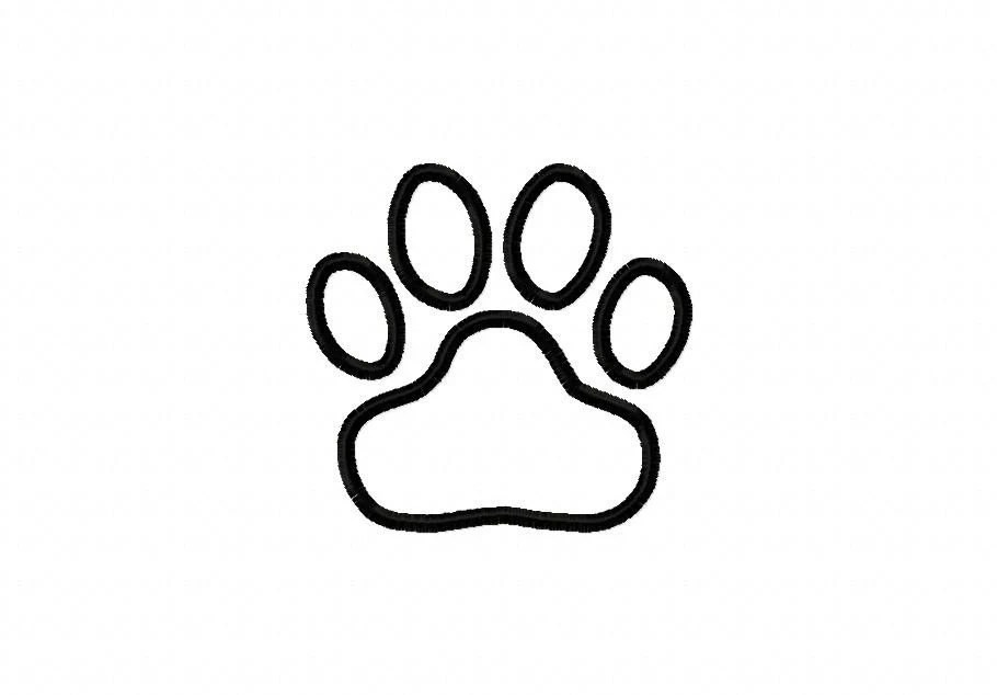 Tiger Paw Print Coloring Page Coloring Pages