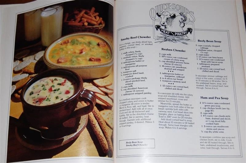 Vintage Cookbook SOUPS and STEWS / Better Homes and Gardens circa 1978