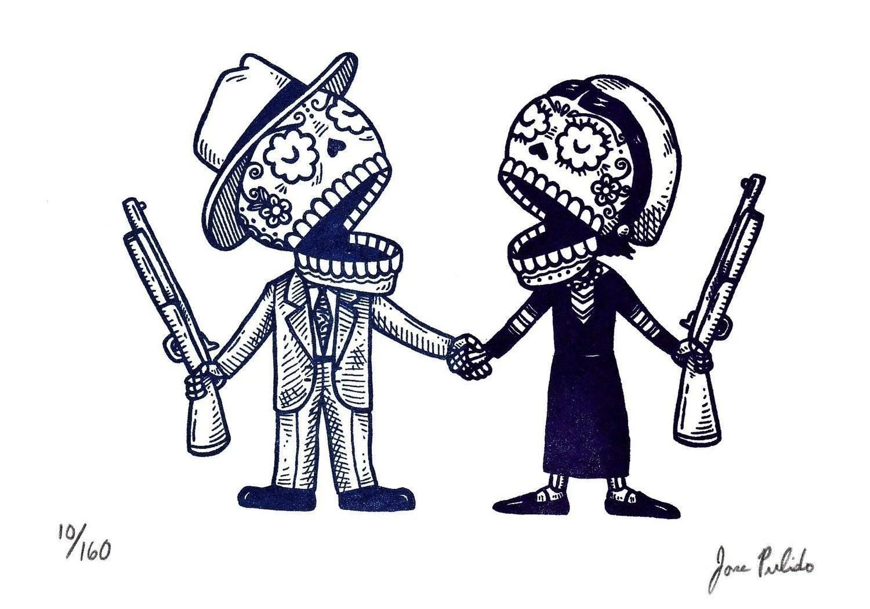 Mbadotblog Bonnie And Clyde Tattoo Ideas