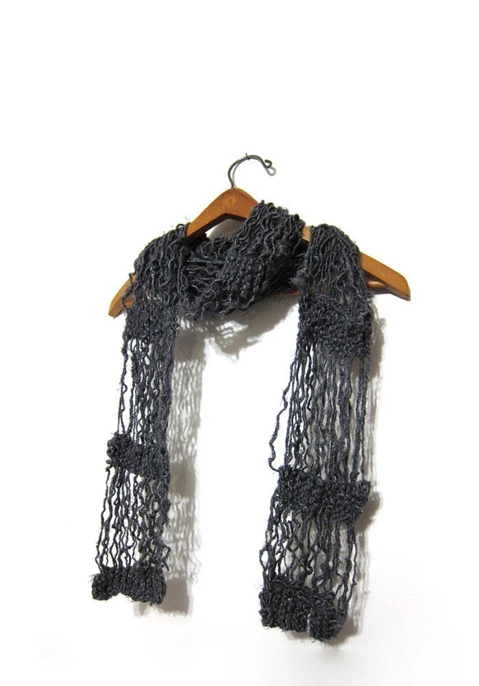 eco-friendly summer scarf by Impossibly Alice on etsy