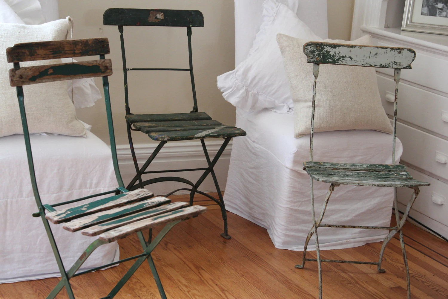French Cafe Chairs Shabby French For Me Maison De Michele A Giveaway At