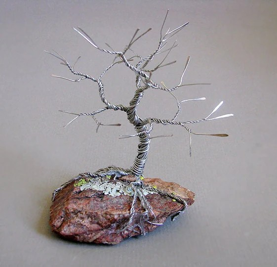 Wire Sculpture Easy Tree