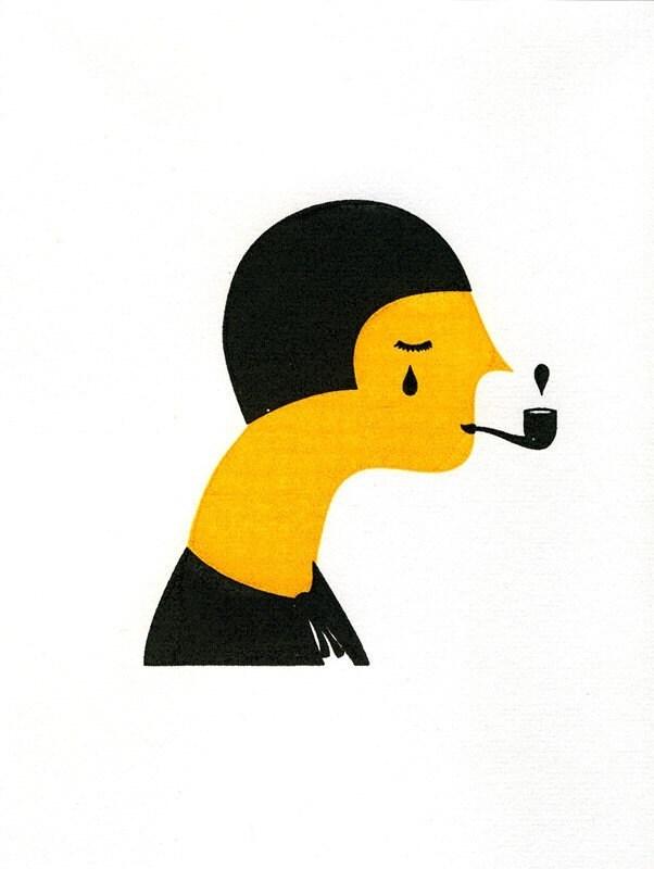 The Writer, by blancucha