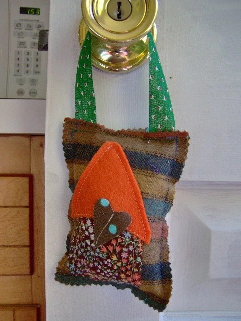Happy Home Upcycled Ornament