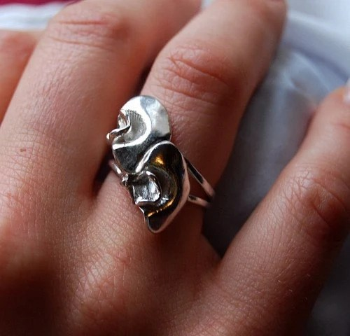 Peaflower ring