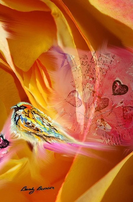 A Joyful Heart digital collage from BevsArtCreations