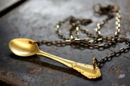 Miniature Spoon Necklace - PREORDER