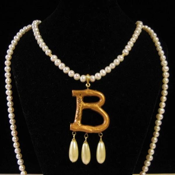 Anne Boleyn style Double Strand Necklace by duchessa