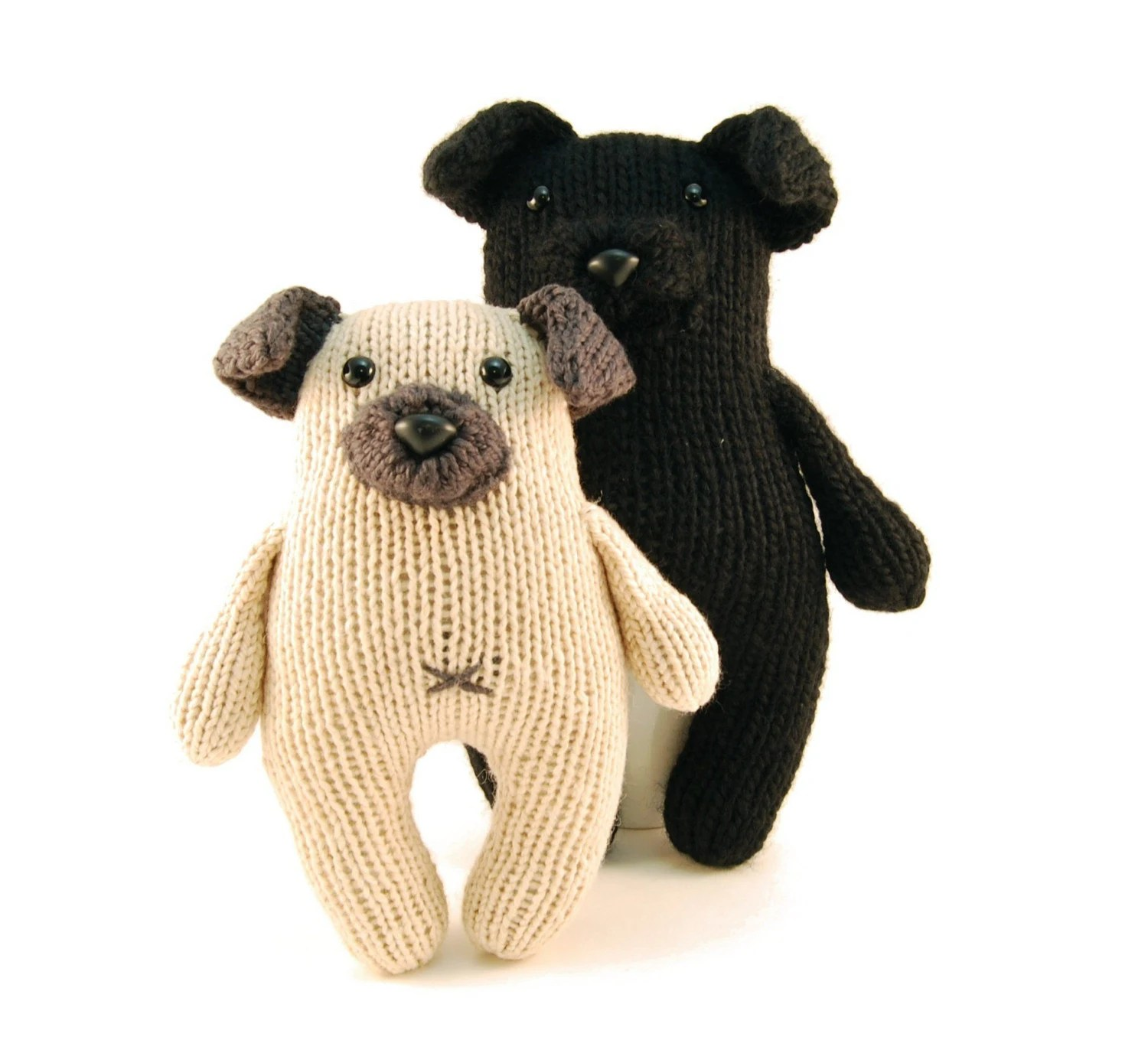 Wasabi the Gregarious Pug Knitting Pattern Pdf