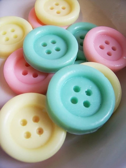Cute as a button soap set