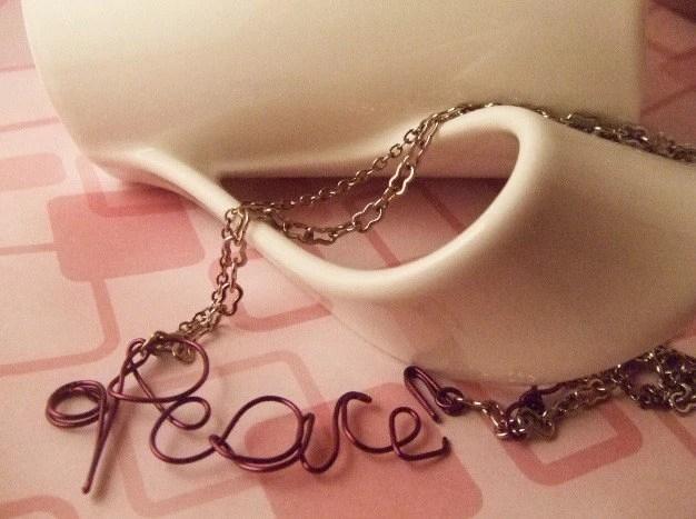 Peace Necklace -$15