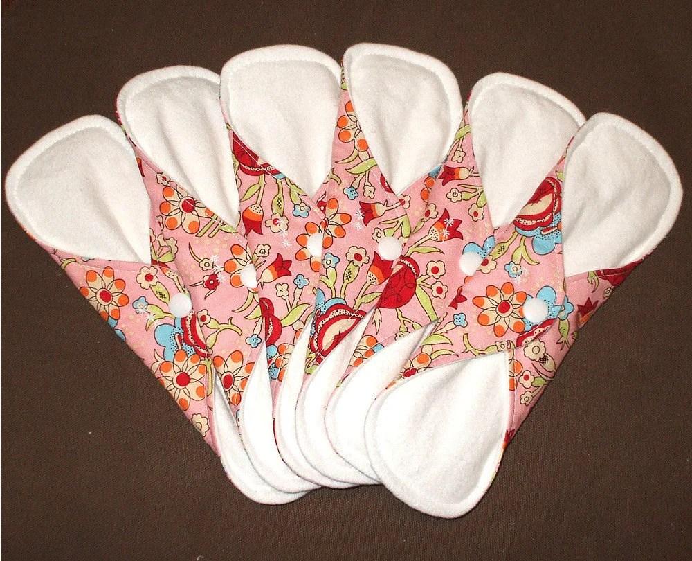 Birch Blossoms Designer Cloth Pad Starter Set