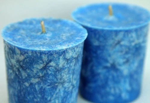Rain Water - 2 Ounce Palm Wax Votives - Set of Two