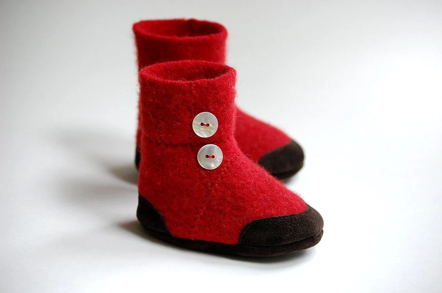 Lambswool Slippers from Upcycled Sweater, Baby sizes 0-12, 6-18, 12-24 months, Dress Up
