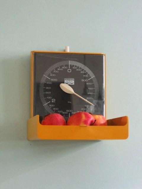 marigold yellow kitchen scale by hanson