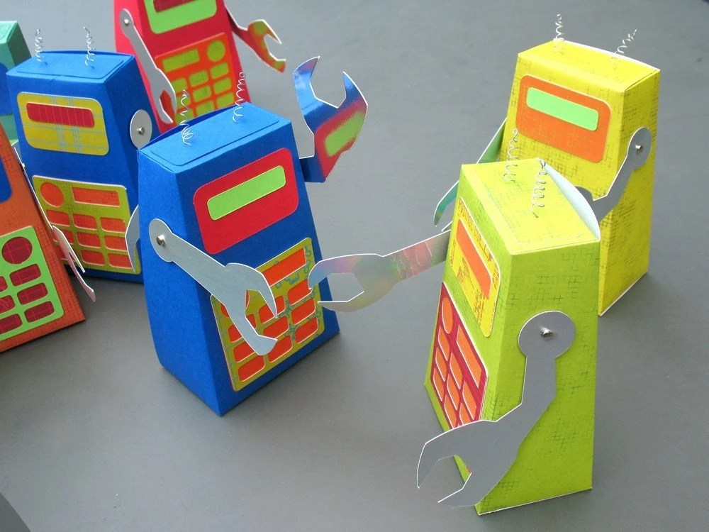 Robot Box - Made to Order