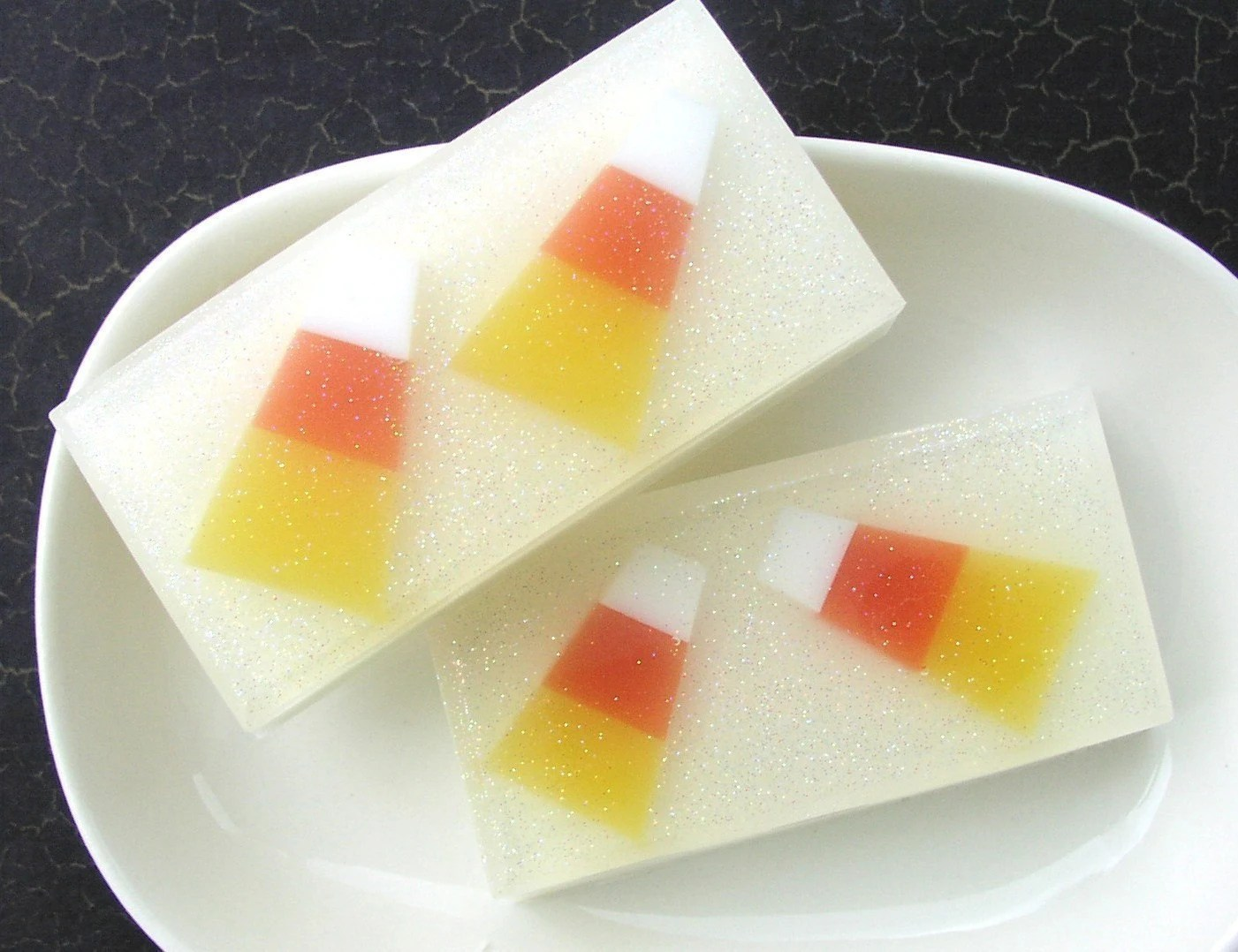 Crazy for Candy Corn Soap
