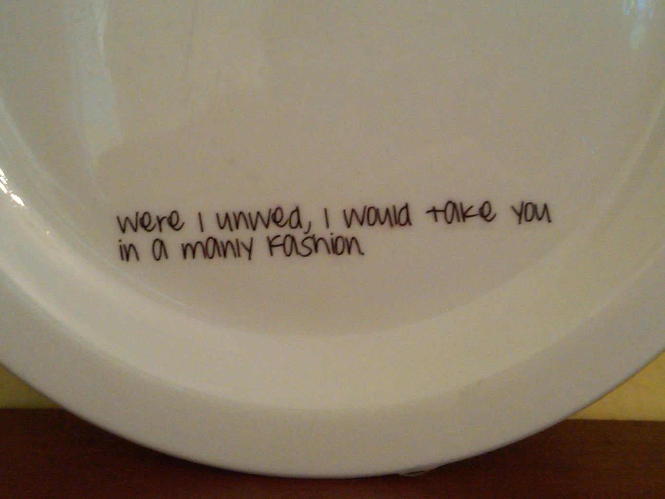 Set of 4 Firefly Quote Plates