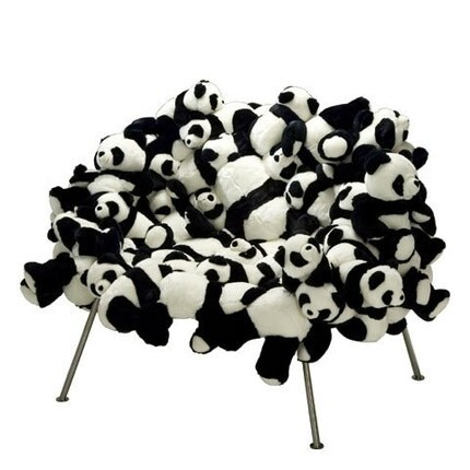 Panda Bear Chair - Unique, Custom Made