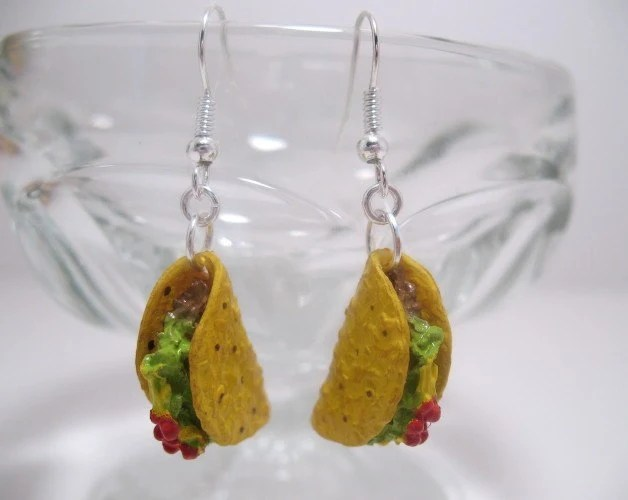 Tempting Taco Earrings