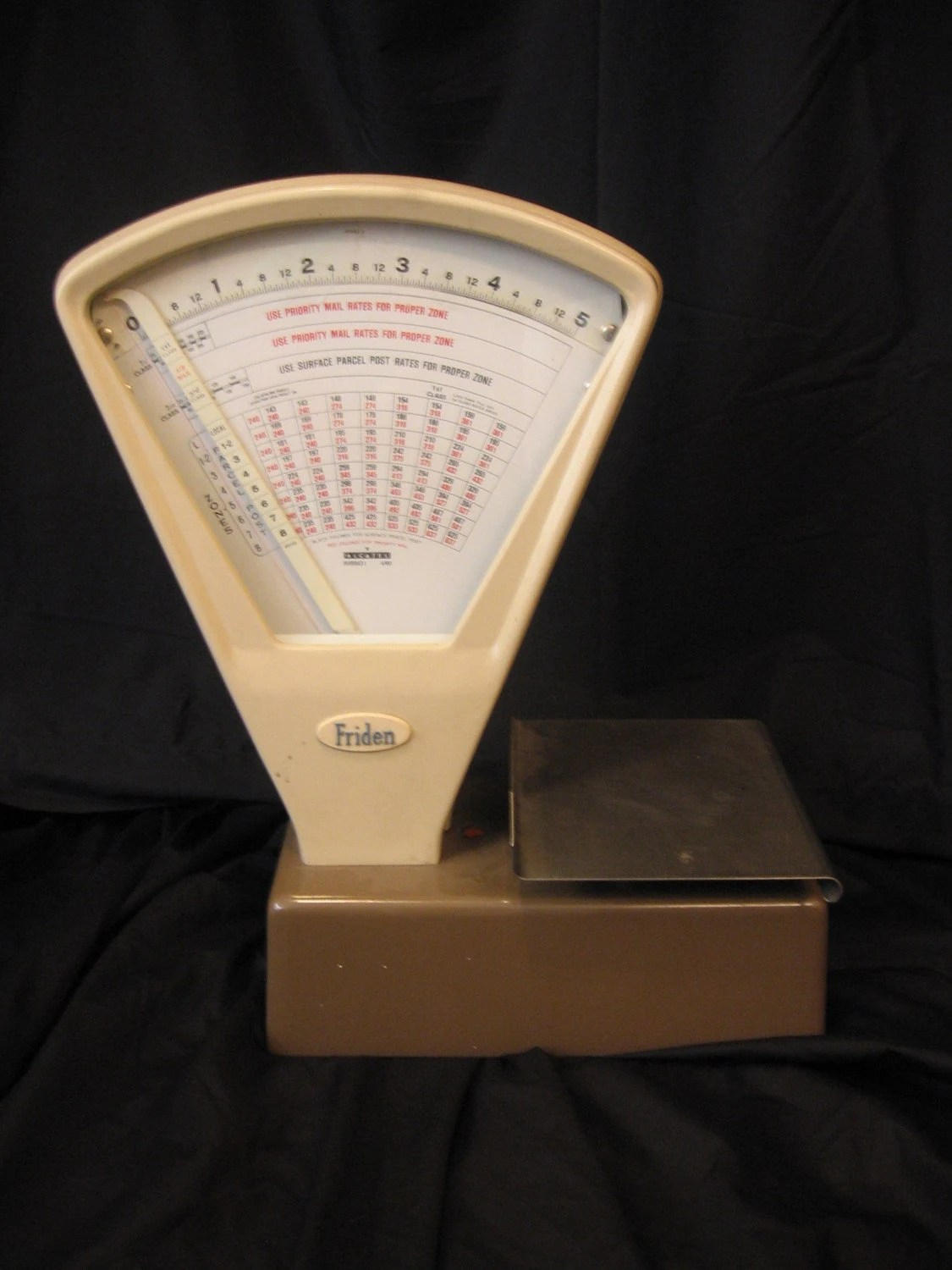 Vintage mail scale-