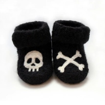 arrgghh wee pirate booties