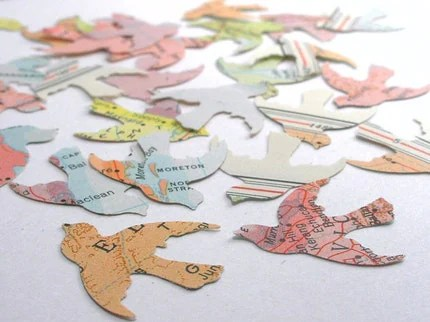 the estate of things chooses recycled map remants