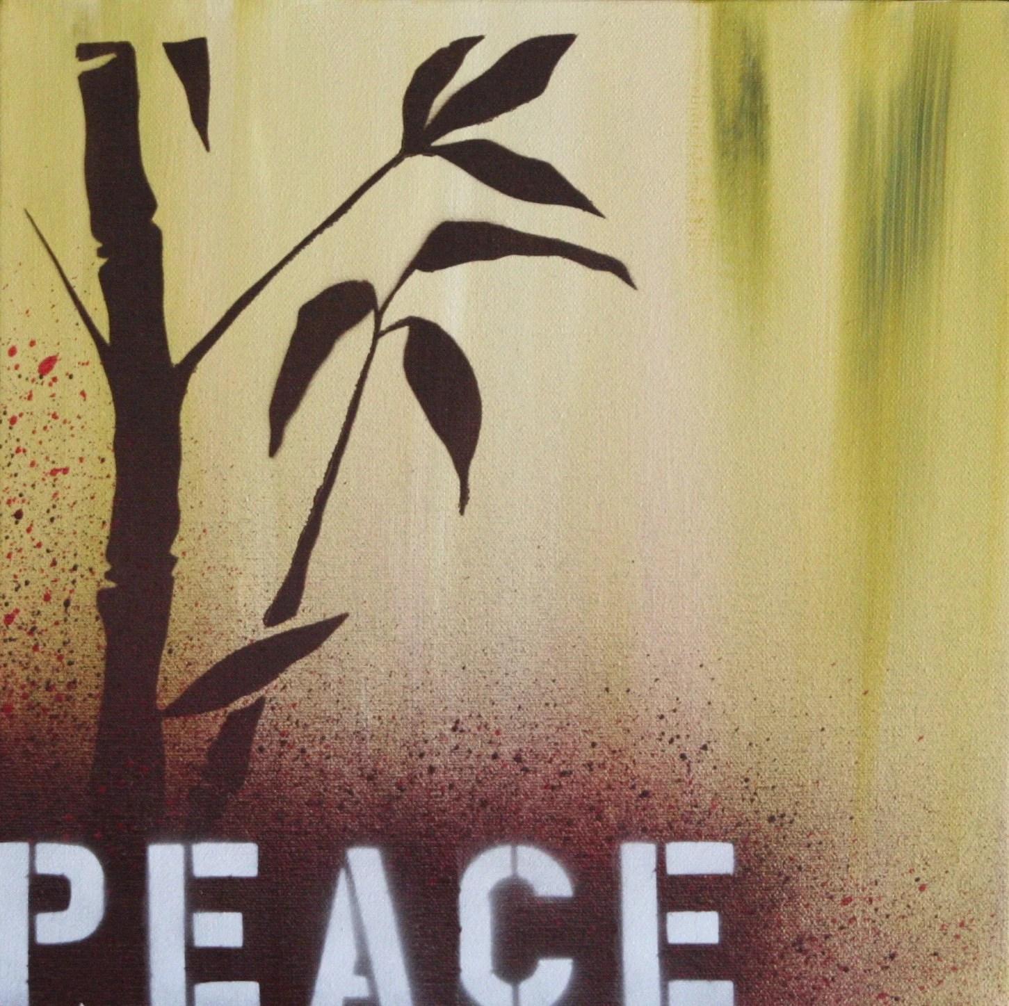 Peace V (12x12) $60