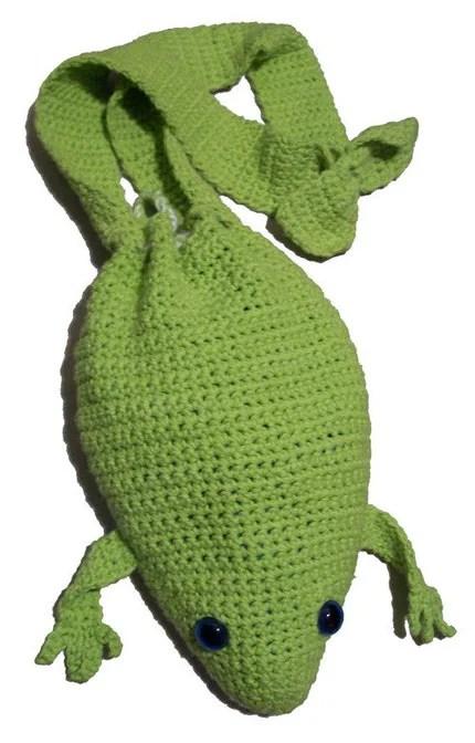 Etsy Frog Bag