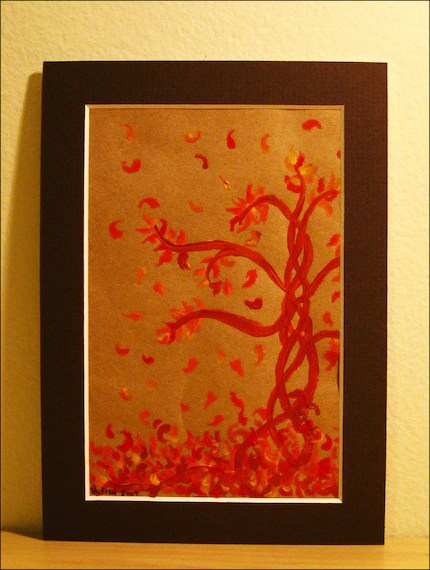 Falling Leaves Painting