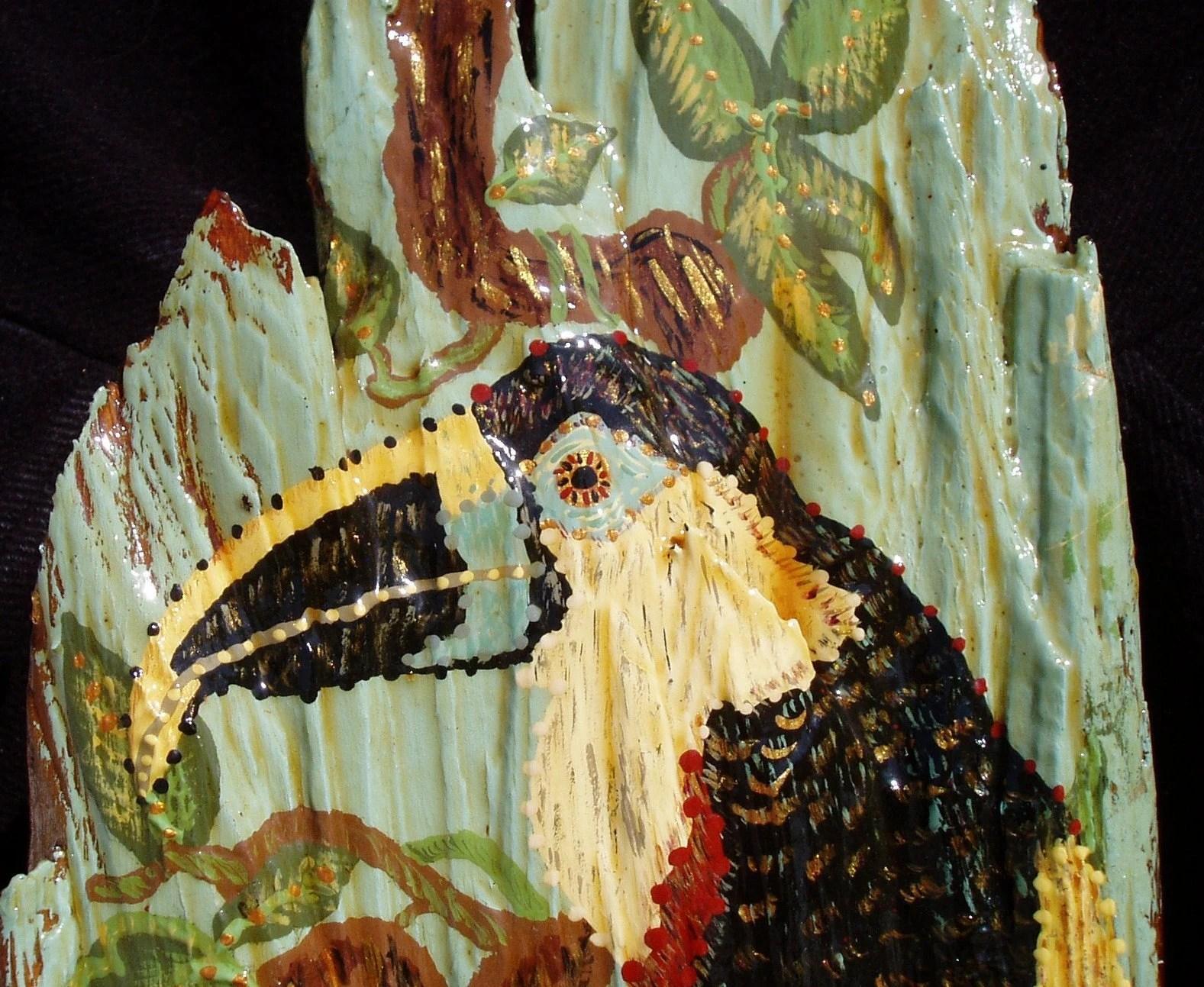 Eye of Toucan - Hong Kong WIllie Original Art