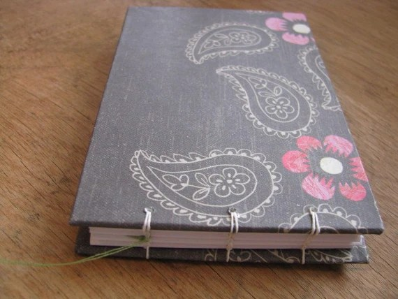Small Notebook - Blank Pages - Coptic Stitch