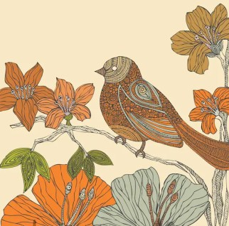 Susie the Bird print