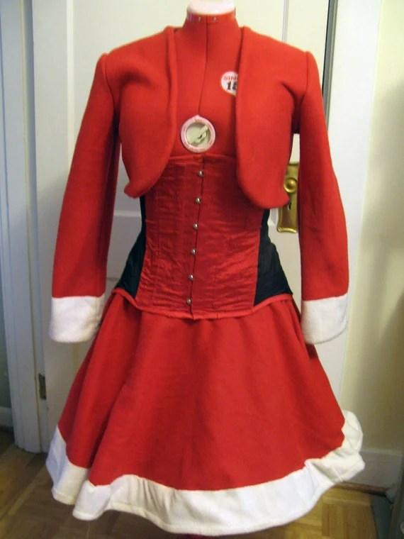 Santarchy - Mrs. Claus Costume