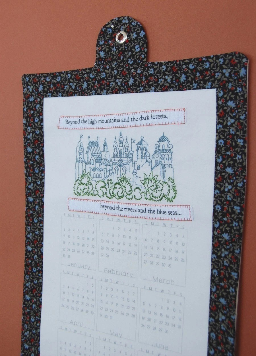 SALE 2011 DIY Calendar Panel - Mini - ONLY ONE LEFT