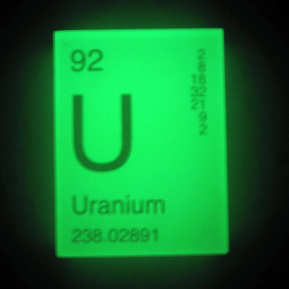 IN YOUR ELEMENT - Periodic Table SOAP - URANIUM - GLOWS in the DARK - VEGAN