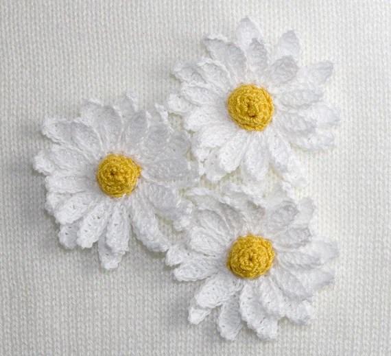 Gerbera Daisy Flower Crochet Pattern