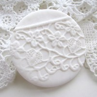Polymer Clay Lace Imprints