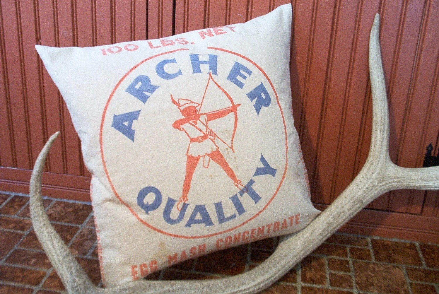 Archer Grainsack Feather Pillow Vintage Minneapolis Minnesota Bag