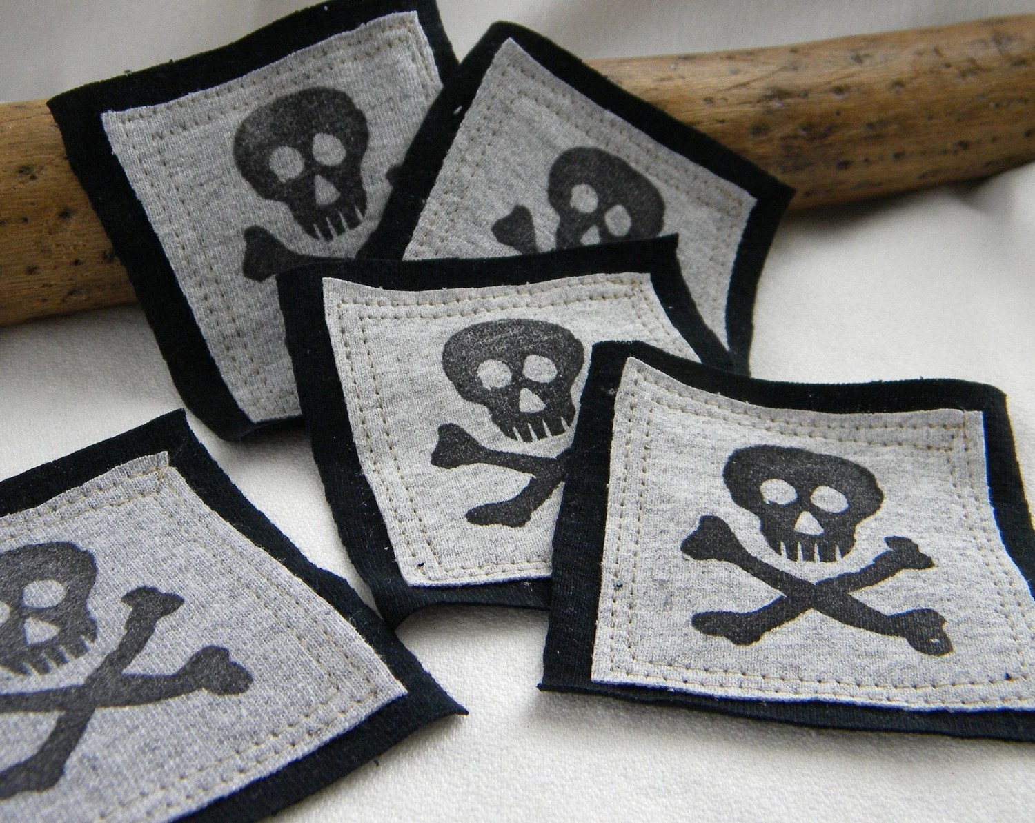 Skeleton PATCHes FIVE Pieces and Parts PATCH
