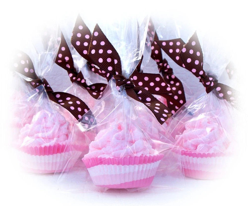 Cupcake Bath Bomb Minis Set of 20 Individually Wrapped (Vegan Friendly) COMPLIMENTARY SHIPPING