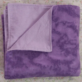 ON SALE  purple flannel blanket