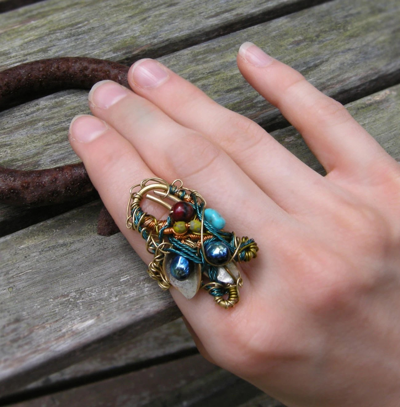 The Lure of  Exoticism Ring