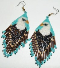 Free Bead Stitch Patterns, Native American Beaded Earrings ...